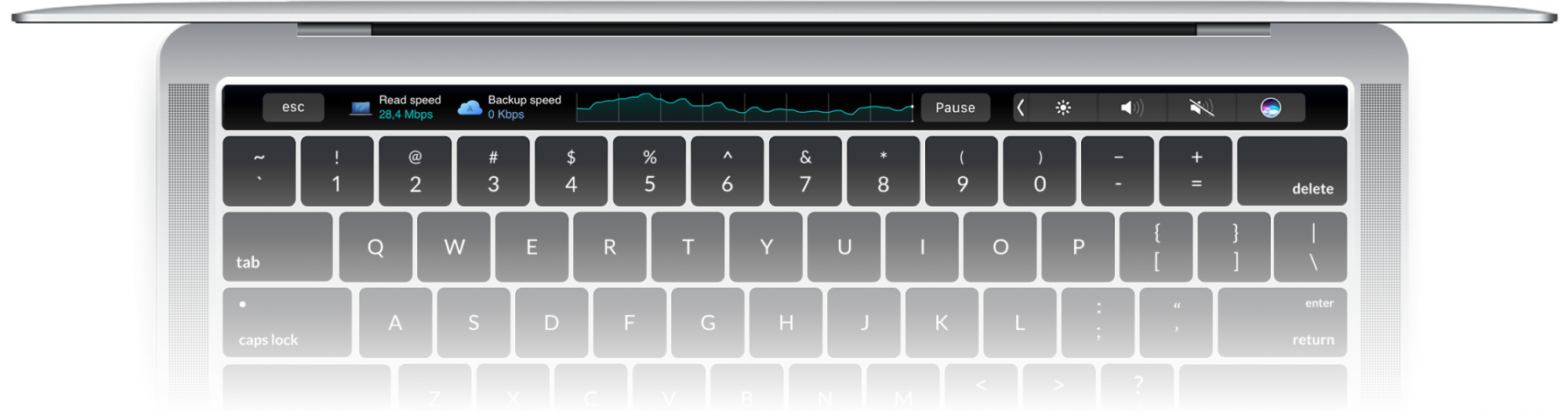 Touch Bar integration