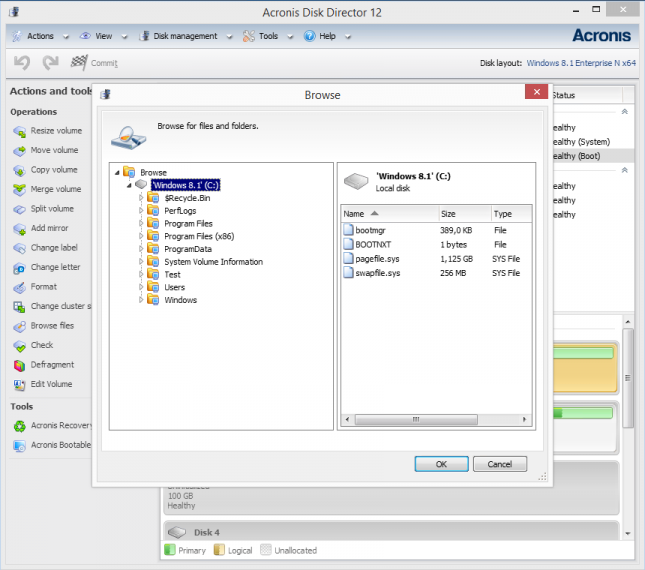 Acronis Disk Director 11 Home - Hard Drive Software for PC