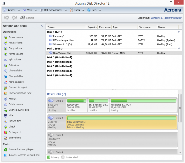 How much is a Acronis Disk Director?