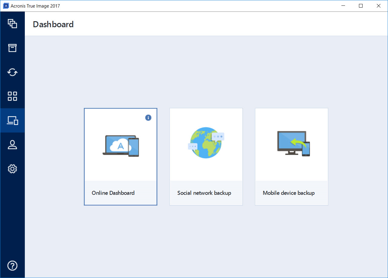 Manage the Protection of all Devices from the Online Dashboard