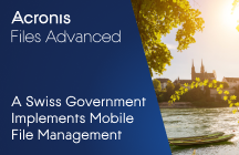 Regional Swiss Government Implements Secure Mobile File Management
