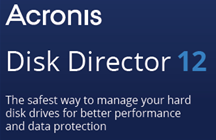 Acronis Disk Director 12 Data Sheet