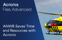 The Royal Dutch Touring Club ANWB Saves Time and Resources with Acronis