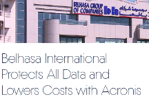 Belhasa International Protects All Data and Lowers Costs with Acronis Backup