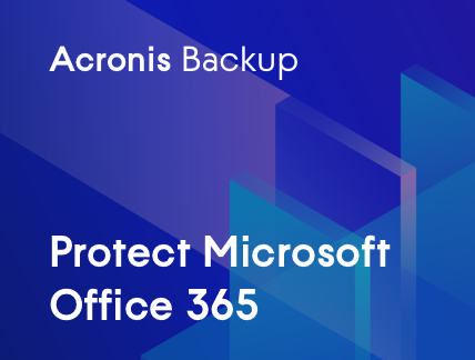 Protección de Microsoft Office 365 con Acronis Backup