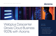 Webplus Datacenter Grows Cloud Business 900%