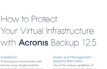 How to Protect Virtual Infrastructure with Acronis Backup 12.5