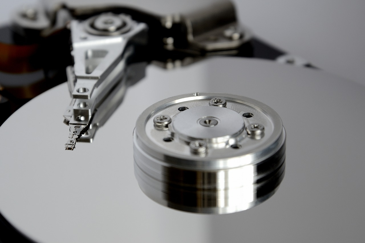 backup your hard disk drive