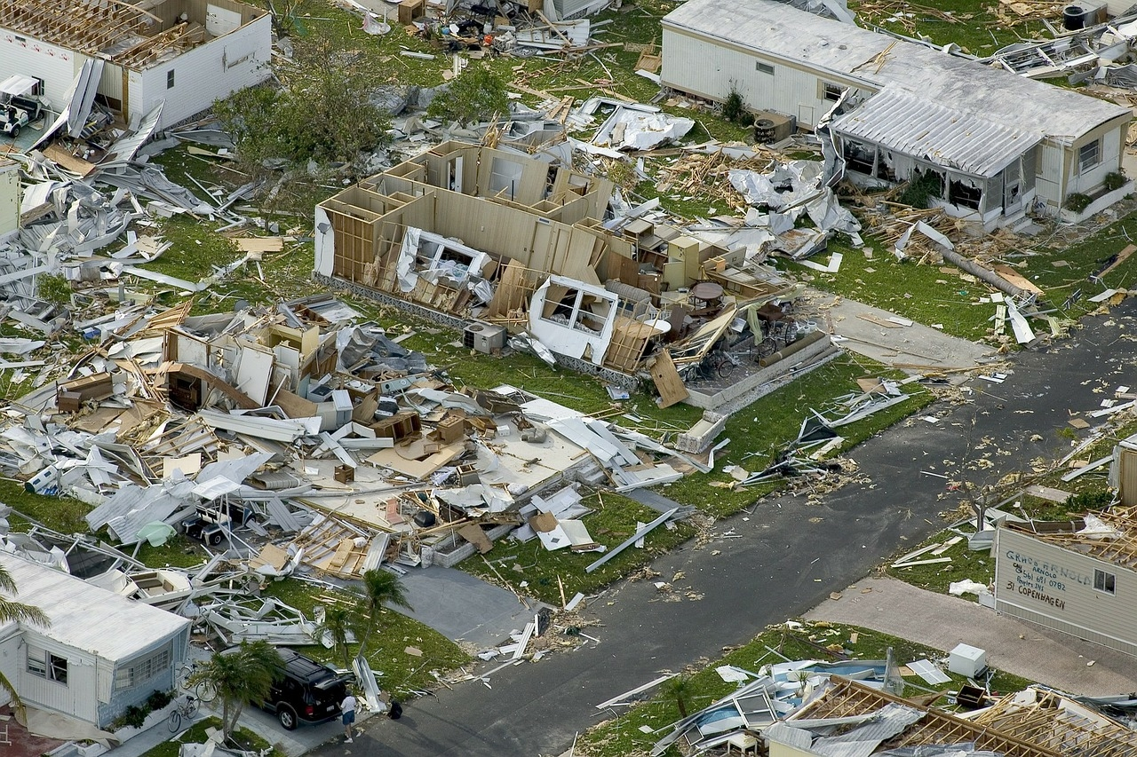 damage after the hurricane