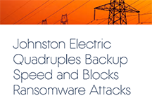 Johnston Electric Quadruples Backup Speed and Blocks Ransomware Attacks with Acronis Backup