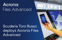 Scuderia Toro Rosso Secures File Access and Sharing with Acronis