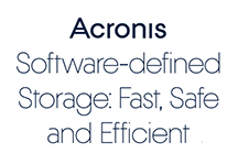 Acronis software-Defined Storage with Intel Intelligent Storage Acceleration Library and blockchain technology
