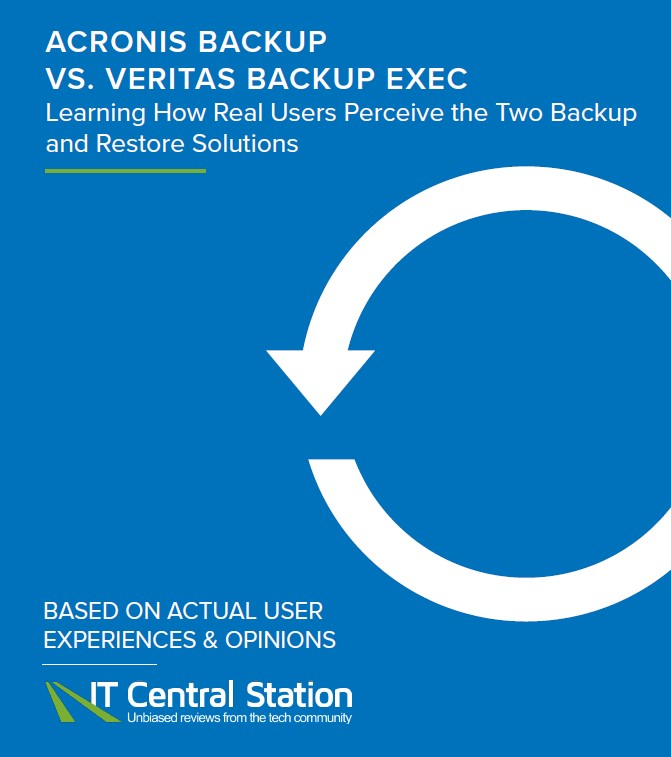 Acronis Backup vs Veritas Backup Exec