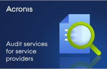Acronis Audit Services for Service Providers