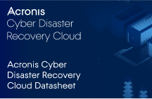 Acronis Cyber Disaster Recovery Cloud - Datasheet