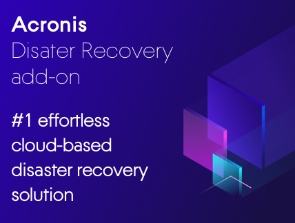 Acronis Disaster Recovery add-on Datasheet