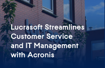 Netherlands MSP saves time, money, and cuts help desk calls by 50 percent with Acronis Backup Cloud.
