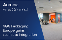 SGS Packaging Europe gains seamless Mac/ Windows integration with Acronis