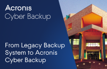 Central University of Technology Successfully Migrates from Legacy Backup System to Acronis Cyber Backup