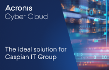 Caspian IT Group consolidates multiple backup solutions into Acronis Cyber Backup Cloud