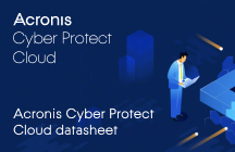 Acronis Cyber Protect Cloud Datasheet