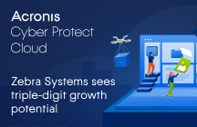 Zebra Systems sees triple-digit growth potential with Acronis Cyber Protect Cloud