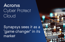 """Synapsys sees Acronis Cyber Protect Cloud as a """"Game Changer"""" in its market"""