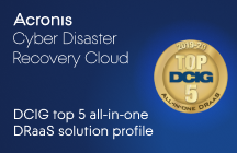 DCIG Top 5 All-in-One DRaaS Solution Profile