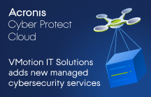 VMotion IT Solutions to add new managed cybersecurity services with Acronis Cyber Protect Cloud