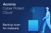 Acronis Cyber Protect: Backup Scan for Malware
