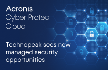 Technopeak Sees New Managed Security Opportunities with Acronis Cyber Protect Cloud