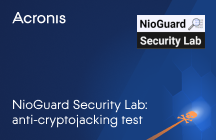 NioGuard Security Lab: Anti-Cryptojacking Test
