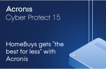 "HomeBuys Gets ""The Best for Less"" with Acronis Cyber Protect 15"