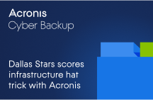 Dallas Stars Scores Infrastructure Hat Trick with Acronis Cyber Backup and Acronis Cyber Disaster Recovery