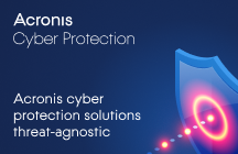 Acronis Cyber Protection Solutions Threat-agnostic
