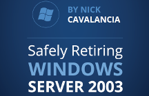 Retirada segura de Windows Server 2003