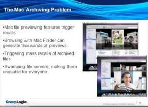 Embedded thumbnail for Archiviazione di file system e Mac