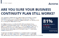 Are You Sure Your Business Continuity Plan Still Works?