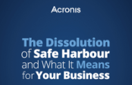 Dissolution of Safe Harbour
