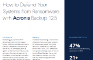 How to Defend Your Systems from Ransomware with Acronis Backup 12.5