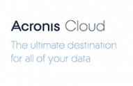Acronis True Image Cloud Backup advantages
