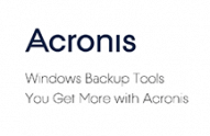 Acronis True Image compare to Windows backup