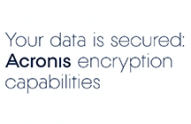 Acronis True Image Encryption capabilities