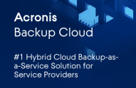 Acronis Backup Cloud Datasheet