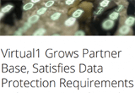 Virtual1 Grows Partner Base, Satisfies Data Protection Requirements with Acronis Backup Cloud