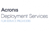Acronis Deployment Services for Service Providers