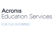 Acronis Education Services for the Enterprise