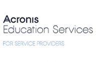 Acronis Education Services for Service Providers