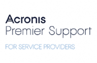 Acronis Premier Support for Service Providers