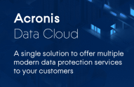 A Single Solution for Offering Multiple Modern Data Protection Services to Your Customers